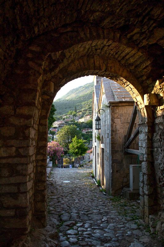 Street in Bar Montenegro