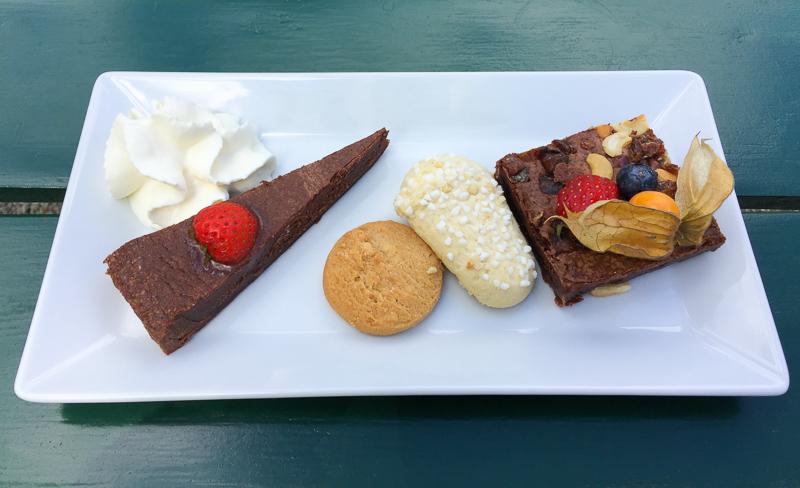 Sweet Treats Pavilion Cafe Drottningholm Palace Sweden