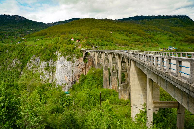 Tara Bridge Montenegro