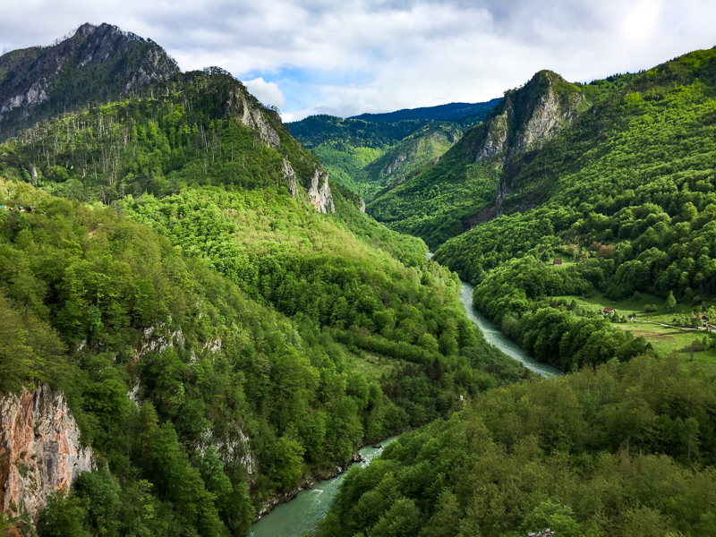 Tara River and Canyon, Montenegro