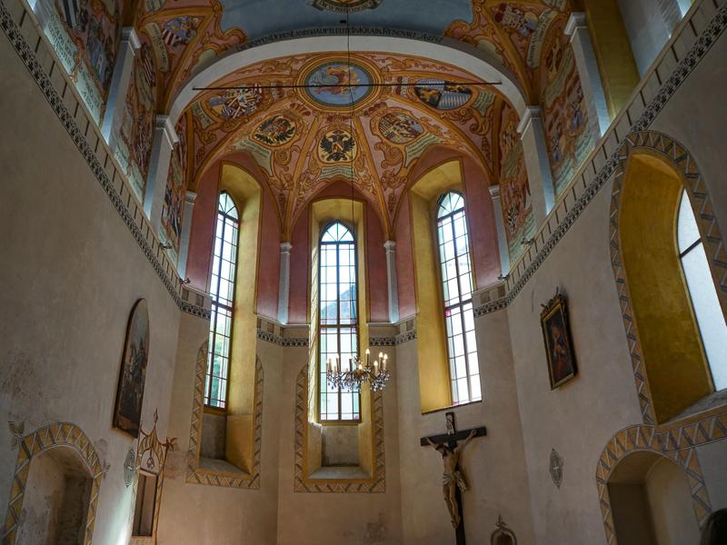 The Chapel at Ljubljana Castle, Ljubljana, Slovenia