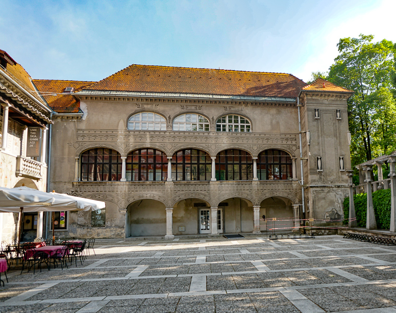 The Krizanke Complex in Ljubljana, Slovenia