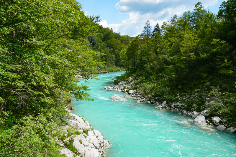 The Soca River Valley is one of the best day trips from Ljubljana you can do!