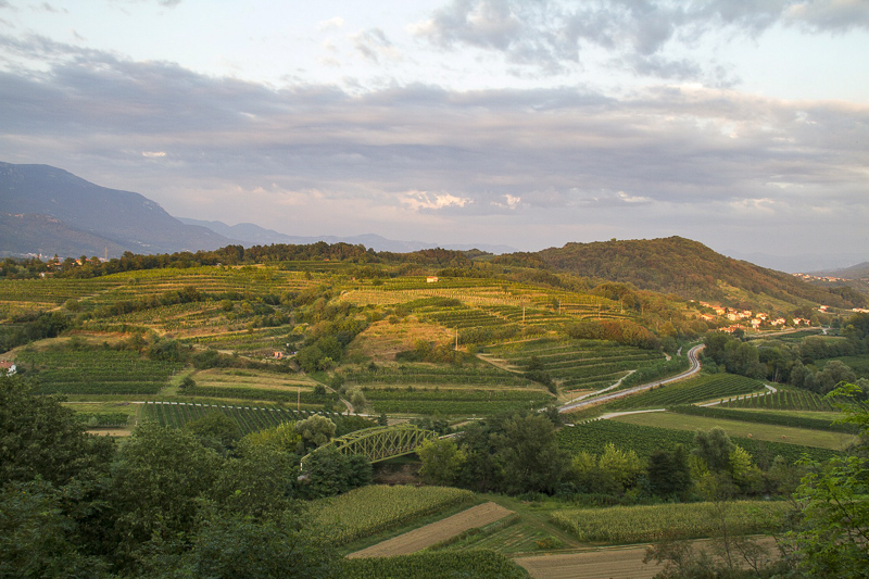 The Vipava Valley in Slovenia