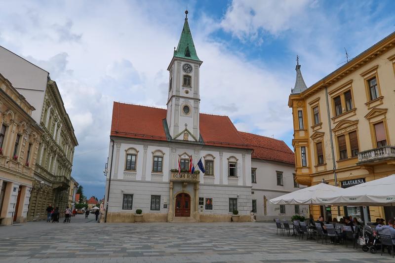 Town Hall Varazdin Croatia