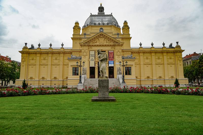 Umjetnicki Paviljon Zagreb Croatia