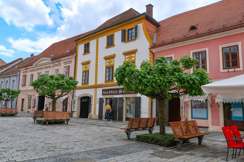 Stunning architecture in Varazdin Croatia