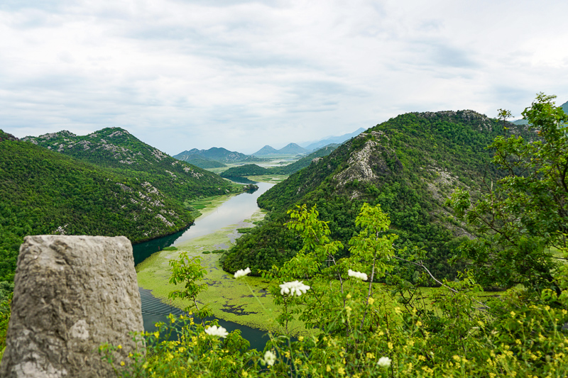 View from Pavlova Strana Viewpoint in Montenegro