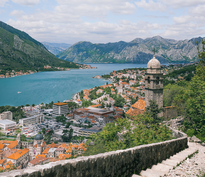 View of Kotor from Walls