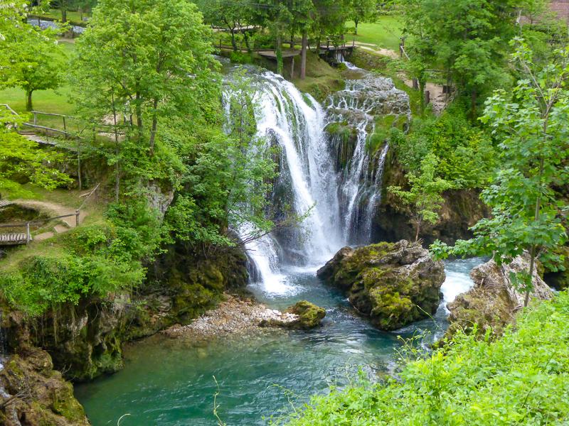 Walking trails Rastoke Croatia