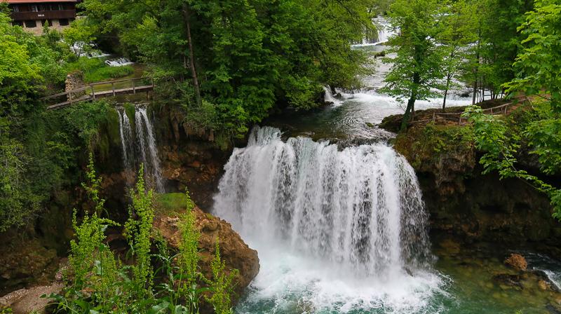 Waterfall at Rastoke Croatia