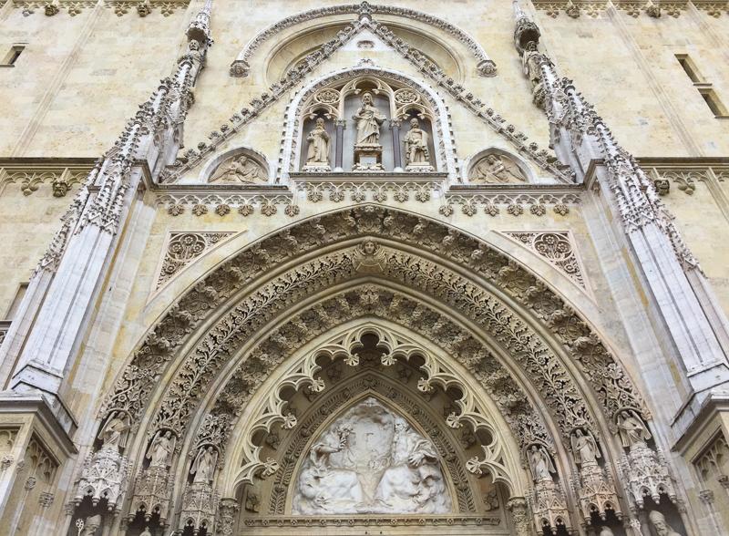Zagreb Cathedral Croatia