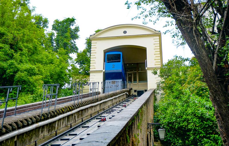 Zagreb Funicular in Croatia