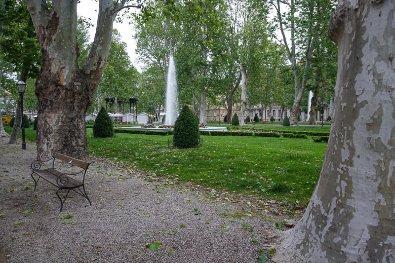 Zrinjevac Park Zagreb Croatia