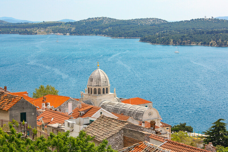 A view of Sibenik Croatia
