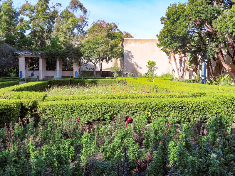 Alcazar Garden Balboa Park San Diego California USA