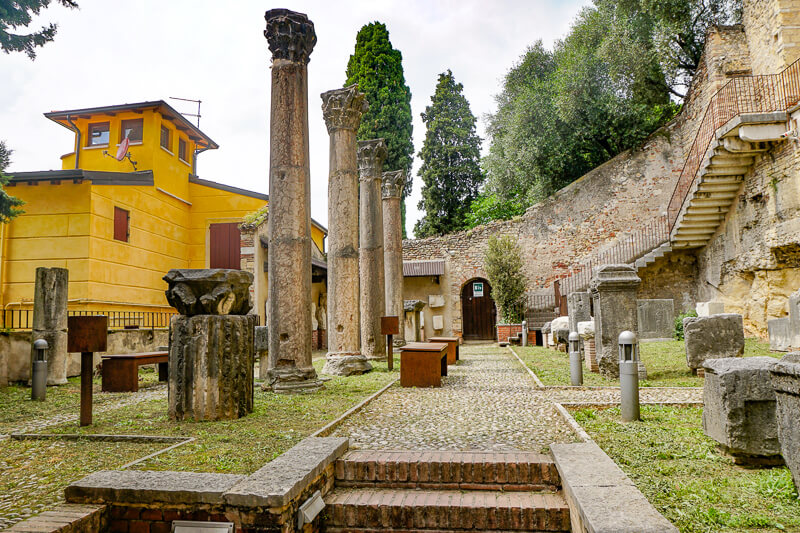 Archaeological Museum Verona Italy