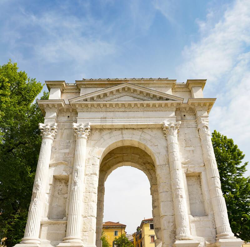Arco dei Gavi Verona Italy