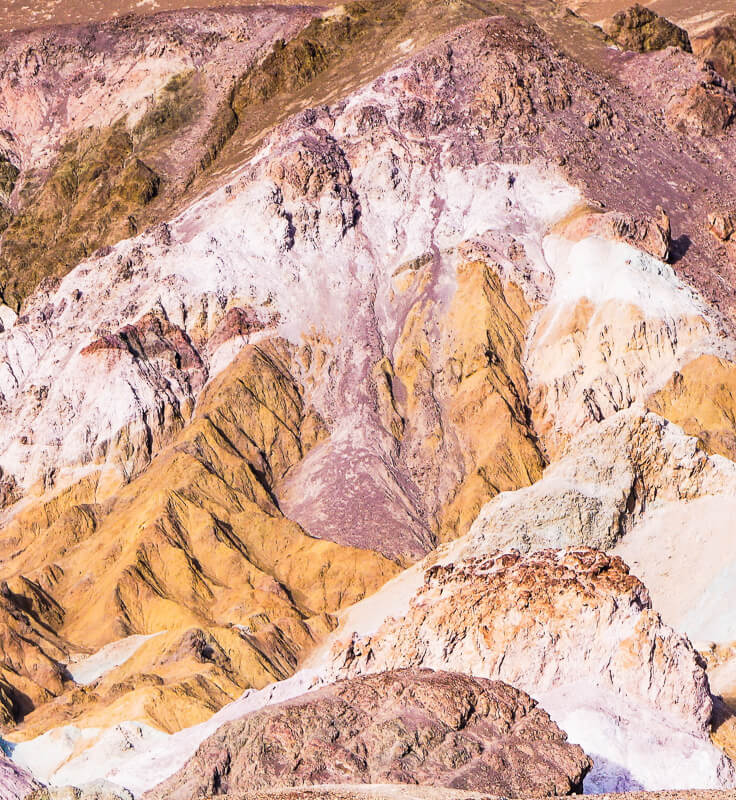 Artist's Palette Death Valley NP California USA