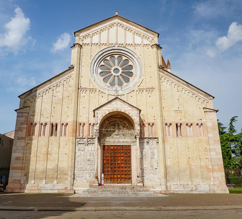 Basilica San Zeno Verona Italy