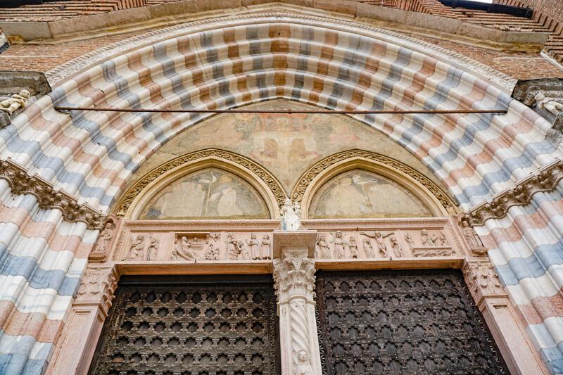 Basilica di Sant'Anastasia Verona Italy