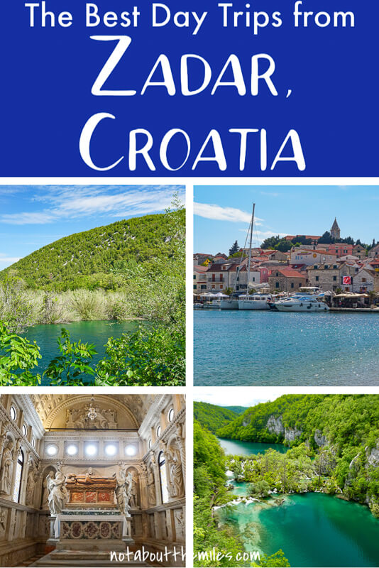 Discover the most exciting day trips from Zadar, Croatia! From the UNESCO protected Plitvice Lakes to spectacular Krka National Park and the Kornati Islands, and historica towns like Trogir and Sibenik, you have your pick of choice destinations from Zadar.