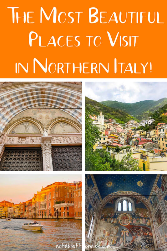 Discover the most beautiful places to visit in Northern Italy from magical Venice to food-paradise Bologna and from charming Cinque Terre to romantic Verona.