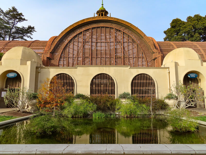 Botanical Building Balboa Park San Diego California USA