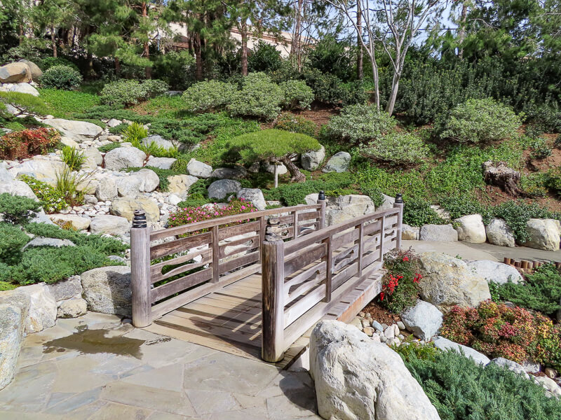 Bridge Japanese Garden Balboa Park San Diego California USA
