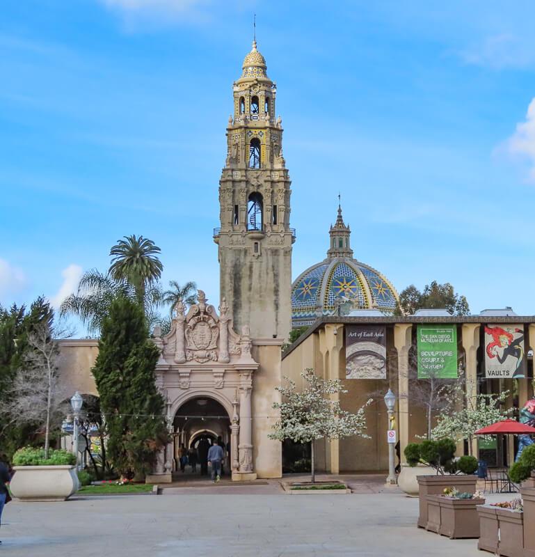 California Tower Balboa Park San Diego California USA