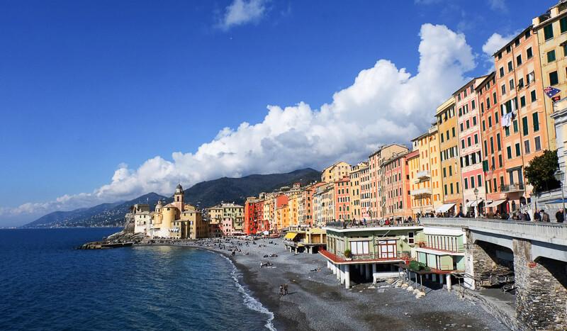 Camogli in Liguria Italy