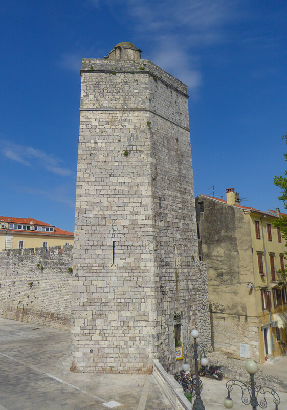 Captain's Tower Zadar Croatia