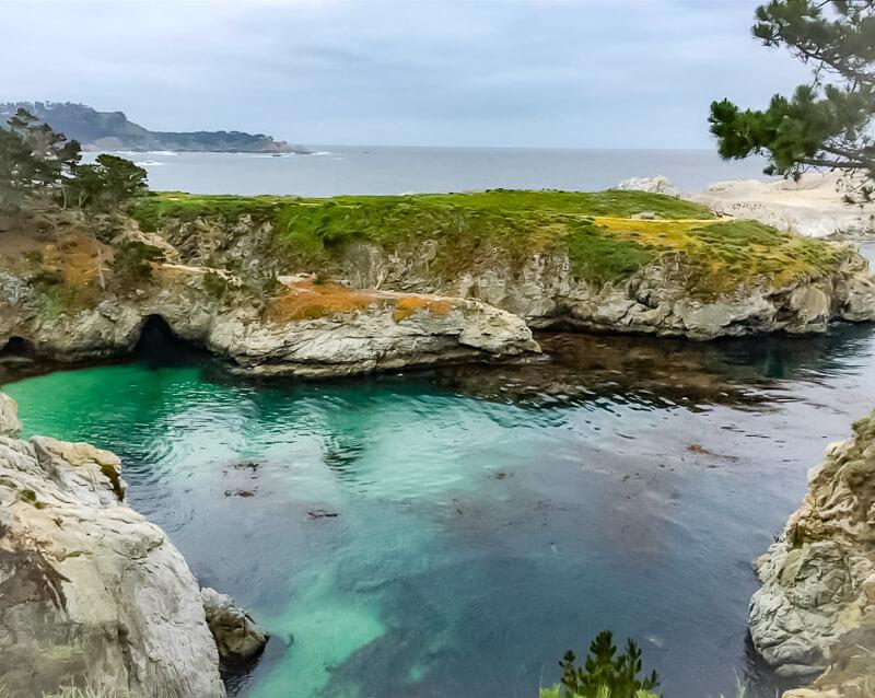 China Cove Point Lobos State Reserve California USA