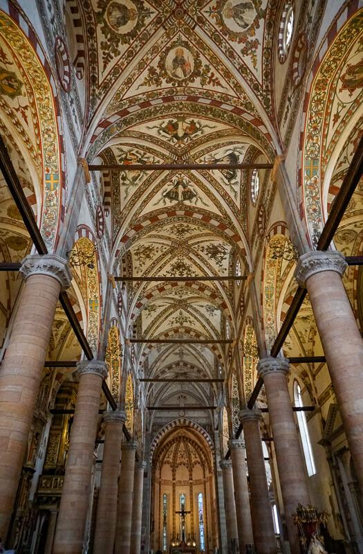 Church of Saint Anasatasia Verona Italy