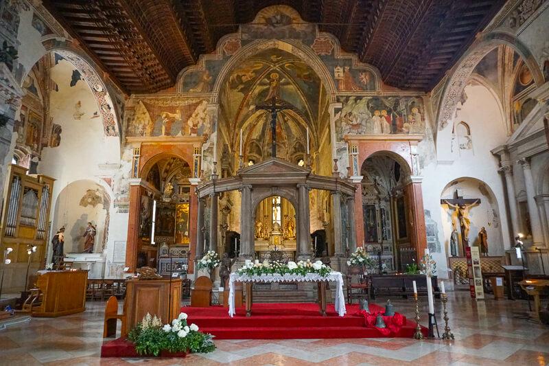 Church of San Fermo in Verona Italy