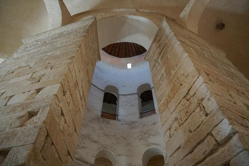 Church of St. Donatus Interior Zadar Croatia