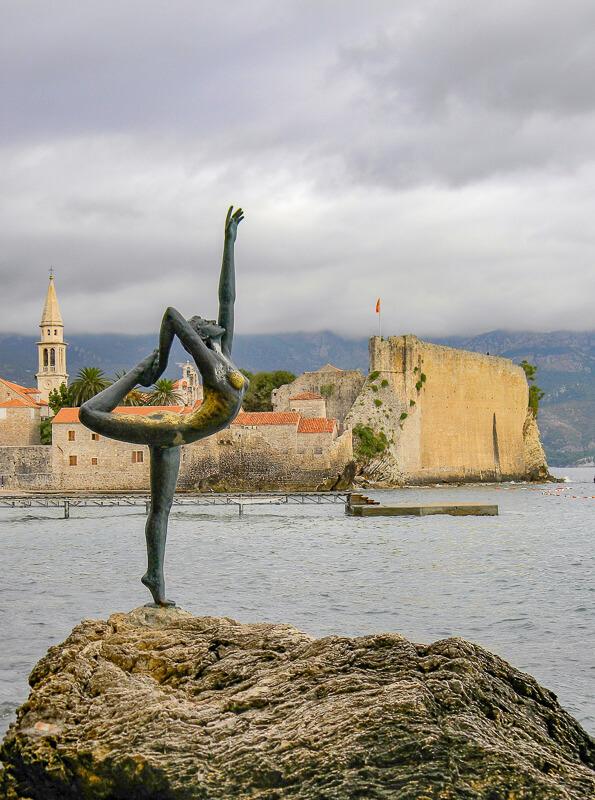 Dancing Ballerina Budva Montenegro