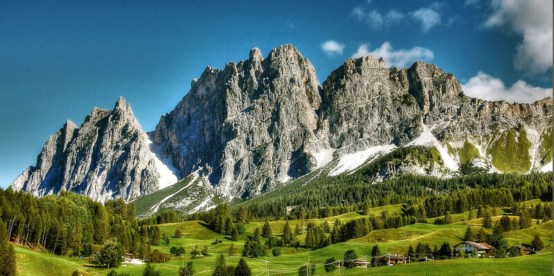 The Dolomites in Northern Italy