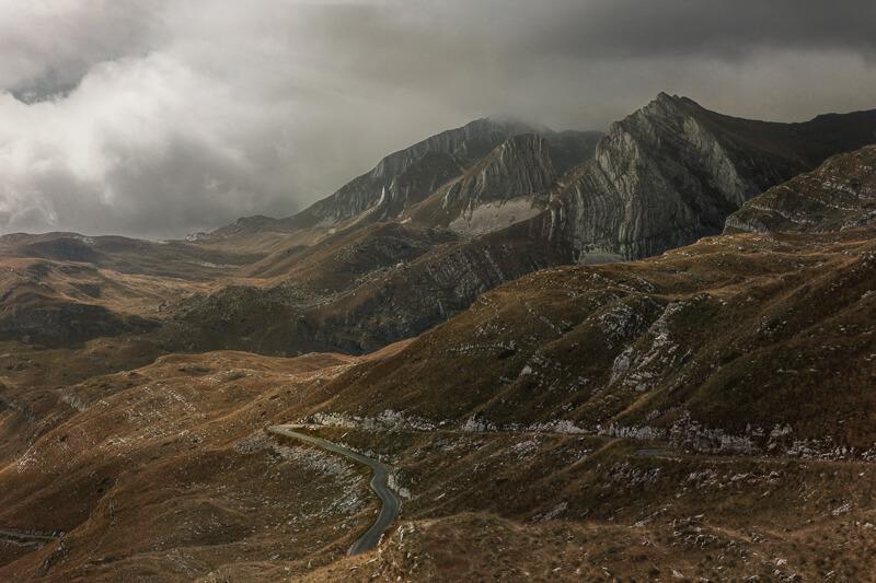 Durmitor NP Landscape Montenegro