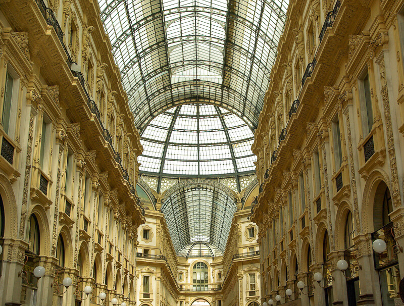 Galleria Vittorio Emanuele Milan Italy