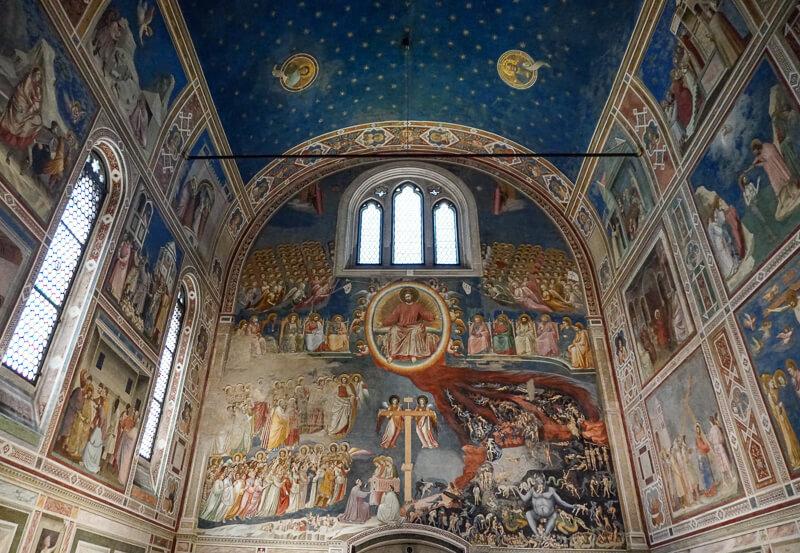 Giotto's Scrovegni Chapel Padua Italy