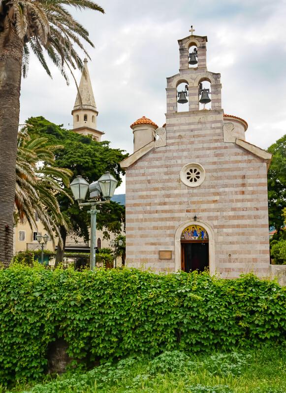 Holy Trinity Church Budva Montenegro