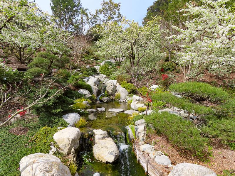 Japanese Friendship Garden Balboa Park San Diego California USA