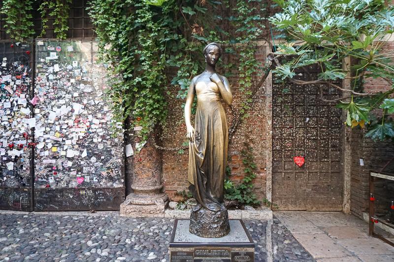 Juliet's Statue Verona Italy