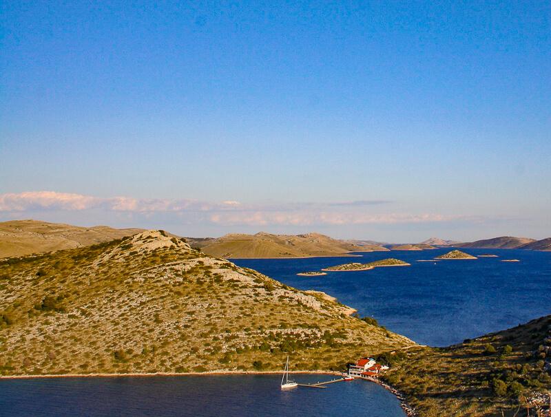 Kornati Islands in Croatia