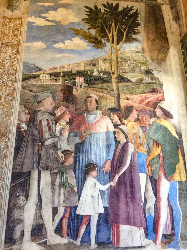 Mantegna Camera Picta Mantua Italy
