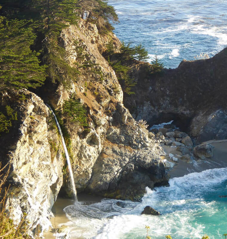 McWay Falls Big Sur California USA