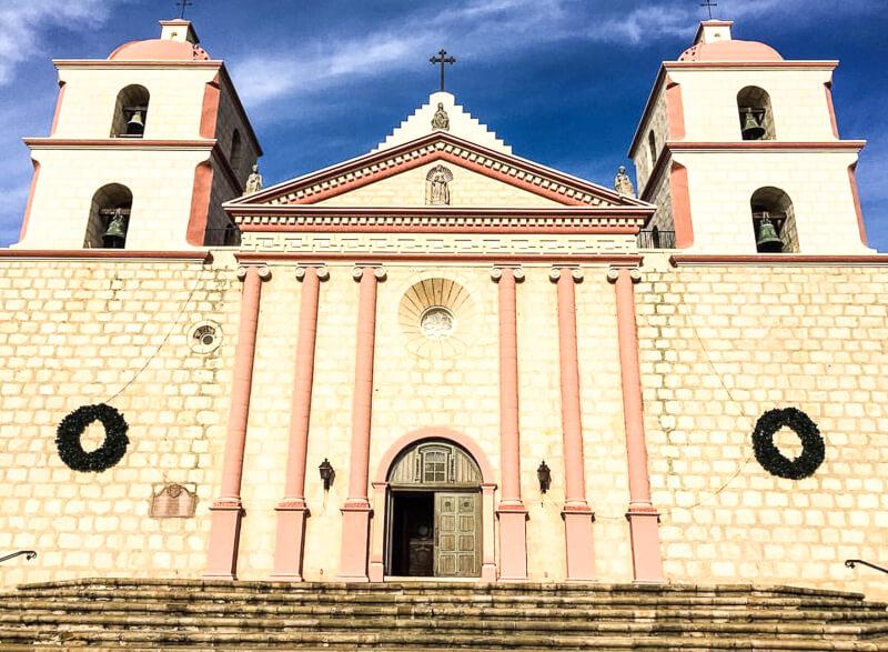 Mission Santa Barbara California USA