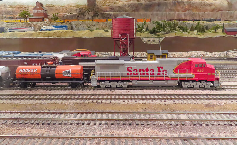 Model Railroad Museum San Diego California USA