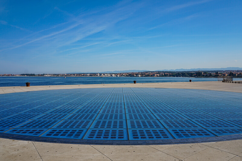 Monument to the Sun Zadar Croatia